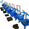 electric diesel engine manual solid concrete hollow brick / block making machine for sale