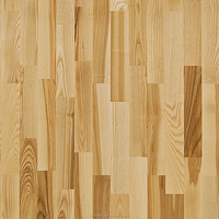 12mm parquet Kahrs Ash laminated floor home finished
