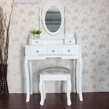 Favoriete Goedkope Wassen Witte Houten Vanity Make Up Tafel - Buy Make Up &FP28