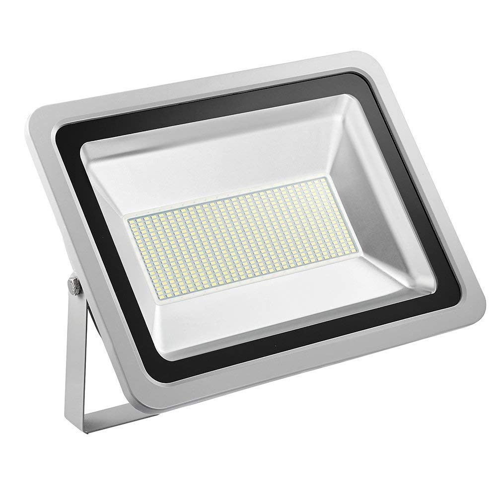 CHUNNUAN10W 20W 30W 50W 100W 150W 200W 300W 500W LED Flood Light ,6000-6500K (Cold White ), IP65 Waterproof ,Super Bright Floodlight,Aluminium Strahler Instant On, CE,ROHS Certified 110V (300W)