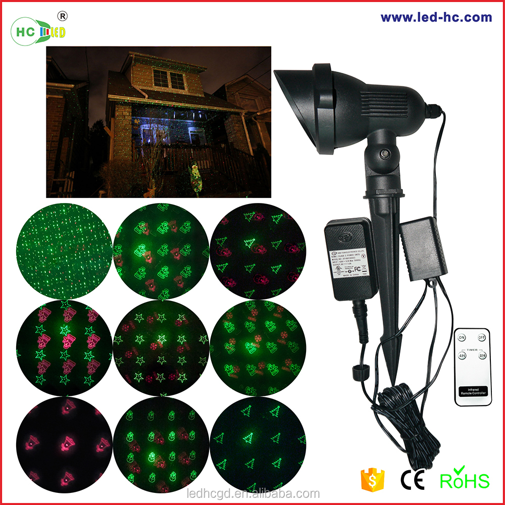 2016 New Products Waterproof Grid Laser Light Red Green Unique ...