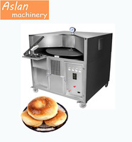 rotary pancake ovening grill machine/ 15cm sesame cake making oven / Arabic Bread Rotary Oven