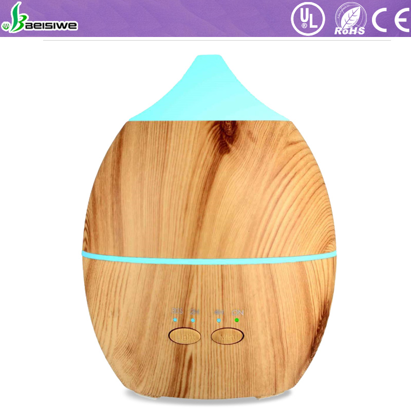 Hot selling 300ml unique design ultrasonic cool mist humidifier essential oil scent diffuser machine