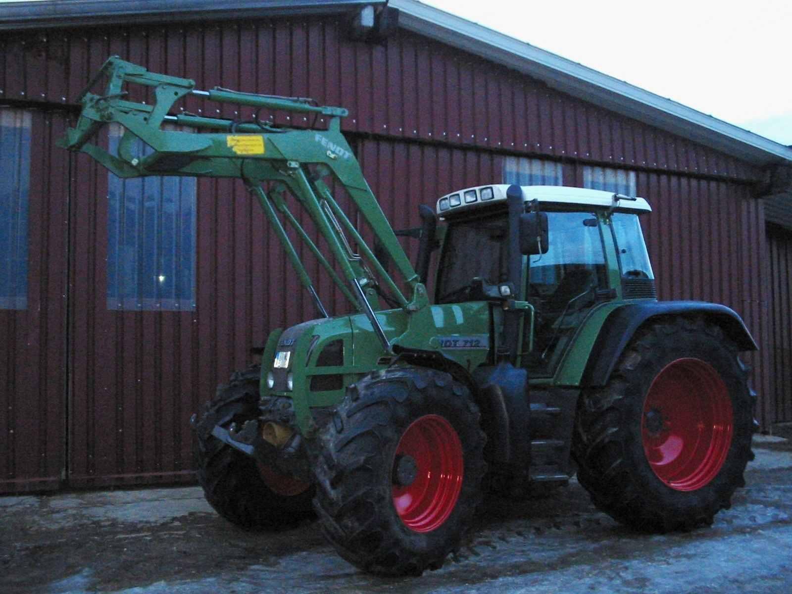 Fendt 711 Vario 120 Ps Schlepper Traktor Fronthydraulik Frontz ...