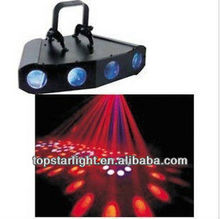 Special offer LED four headlights four eye lamp four laser head laser stage lights KTV LED bars disco light