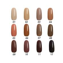 Free shipping Toffee Series 12 pcs MIJIQUAN Gel Nail Polish 15ml 12 colors for choice