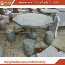 China Wholesale High Quality Patio Stone Tables And Benches