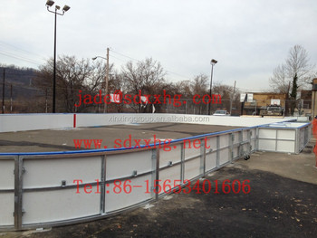 Ice Rink Boards For 60*30m Outdoor Hockey Boxes