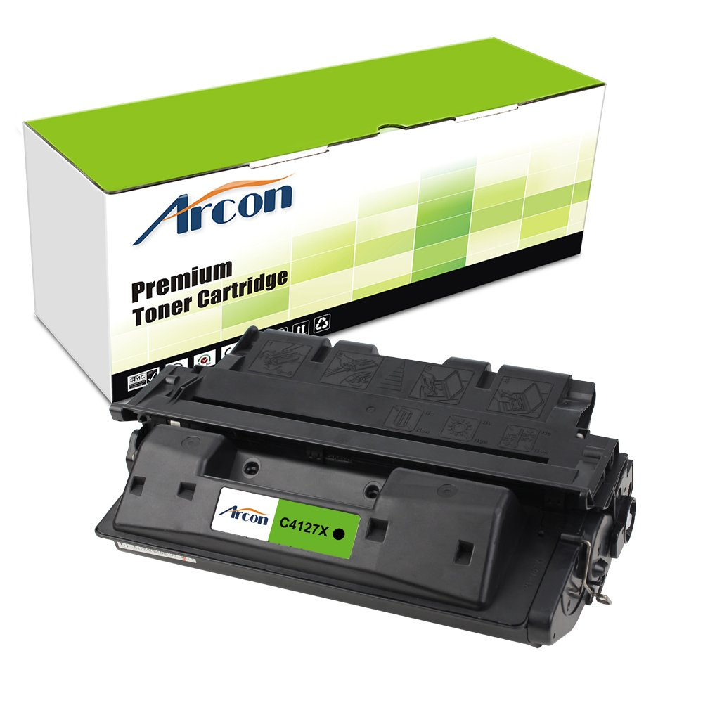 Arcon 1 Pack Compatible for HP 27A C4127A HP 27X C4127X Toner Cartridge for HP LaserJet 4050, HP LaserJet 4050N Toner, HP LaserJet 4000N Toner, HP LaserJet 4050TN 4050 4050N 4000n 4000tn Toner Printer