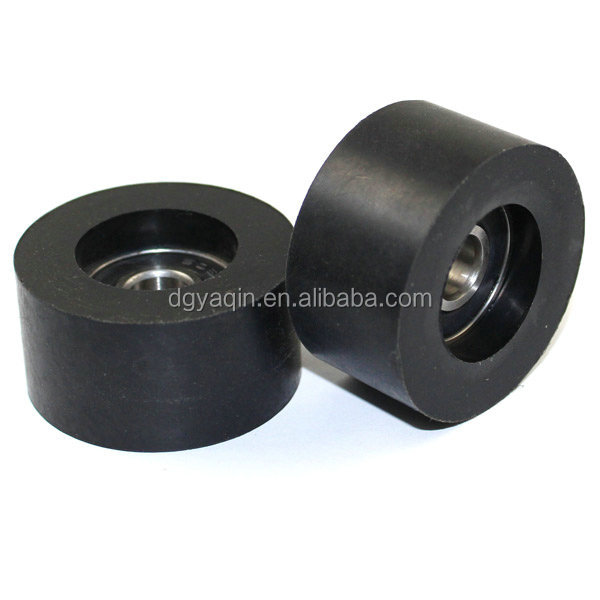 8x35x18mm 608 polyurethane u groove roller for machine