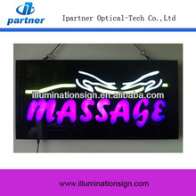 2017 China Manufacturer Custom Massage Led Bright Neon Signs