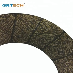 Auto spare parts clutch facing material with kevla aramid fibers