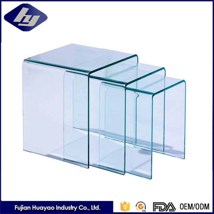 Top Quality Furniture Tempered Glass Customized Decorative