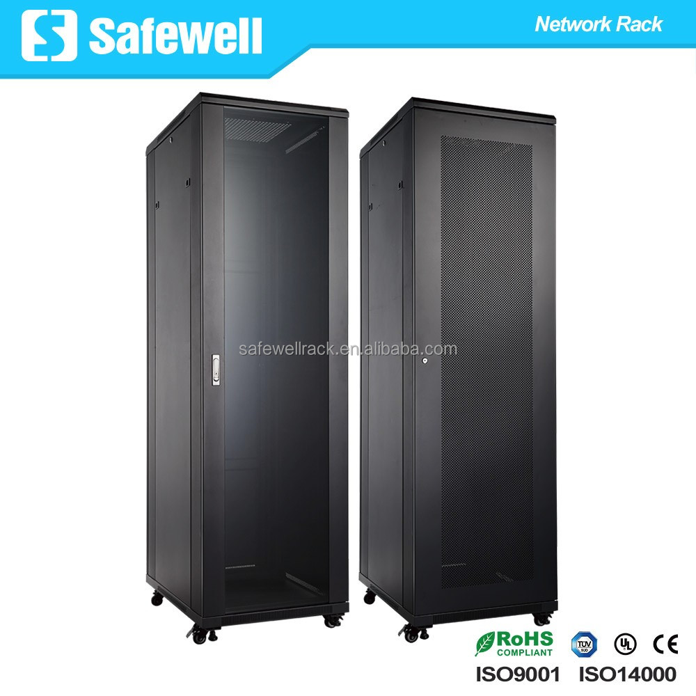 Safewell SNB6622 Economical Series 19 inch 22U Standing Network Rack Cabinet