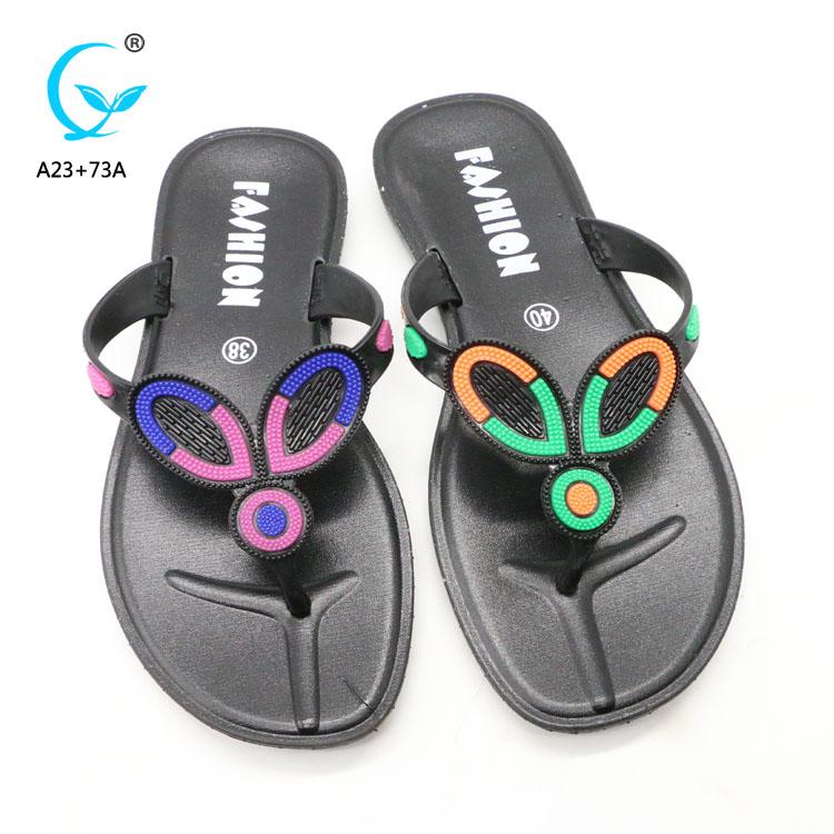 cec5841685708c Summer beach sport sandals soft rubber flip flops slippers rubber thailand