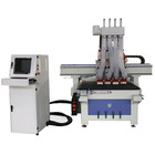 Jinan Apex Four Spindles 1325 Multi Heads Wood CNC Router with Factory price