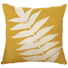 Square Colourful Large Leaf Pattern Throw Pillow Simple Style Design Custom Cushion For Sofa Bed Decorative