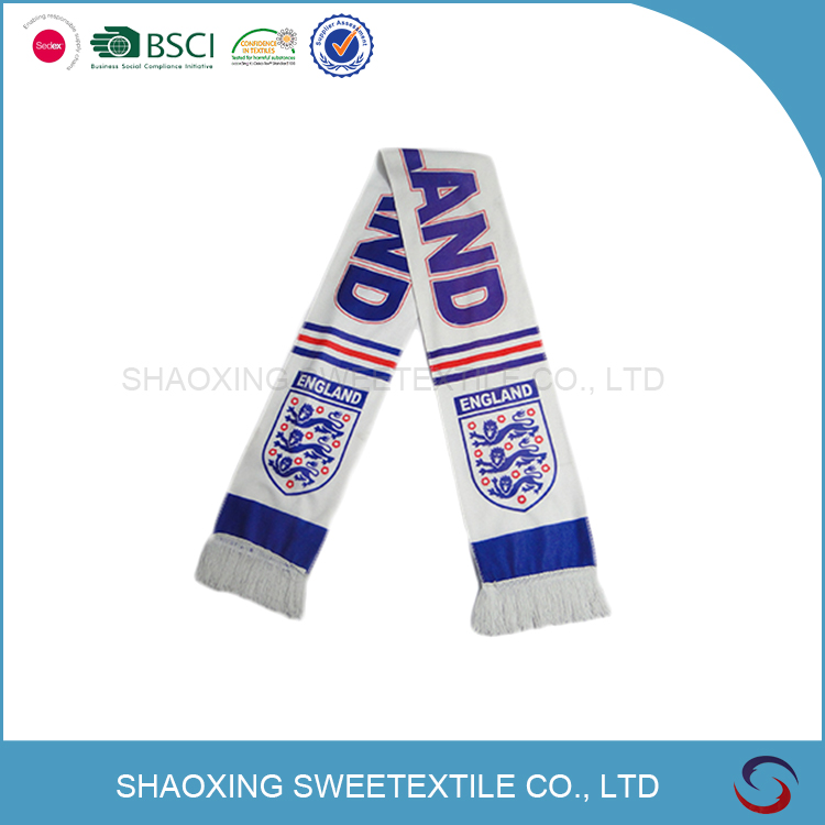 China Wholesale Soccer Fan Scarf