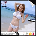 New Product OEM cotton asia beach bikini vintage swimwear