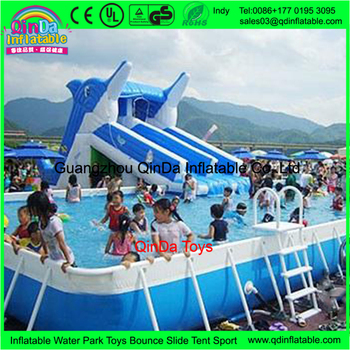 Inground Pools With Waterslides inflatable pool slides for inground pools,cheap inflatable hippo