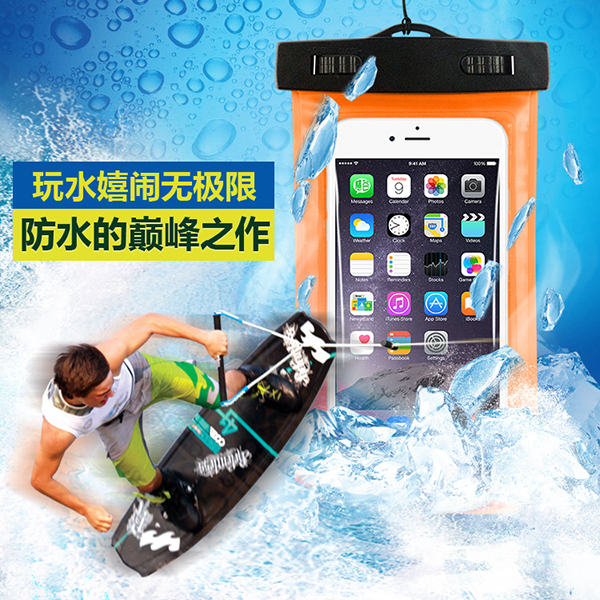 HD picture under water waterproof phone case, Promotional PVC Waterproof Bag