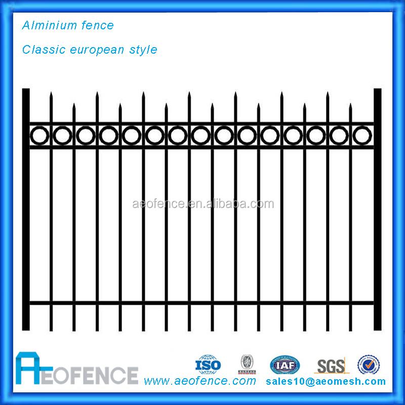 modern fence gate design aeo customized aluminum fence panels and post