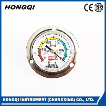 vacuum pressure gauge with flange -0.1~0 MPa 50mm