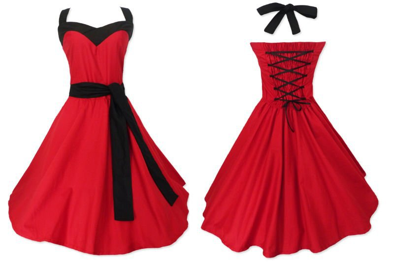 3c64fa1b51b Get Quotations · red dress women s plus size US xxxl 6xl vintage styled  hippie boho club dresses flare party