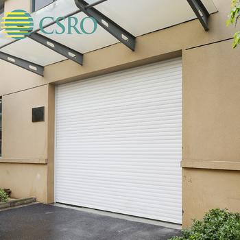 Roll Up Garage Door In Steel With Pu Foam Insulation Material Buy