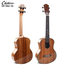 Speciale Solid KOA Top High-end <span class=keywords><strong>Ukulele</strong></span> Voor Koop 26 Inch Hawaii KOA hout Body Uke