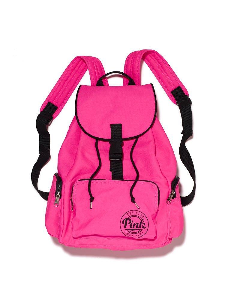 c7e840c73feb Buy Victorias Secret PINK Backpack School Book Bag Atomic Neon Hot ...