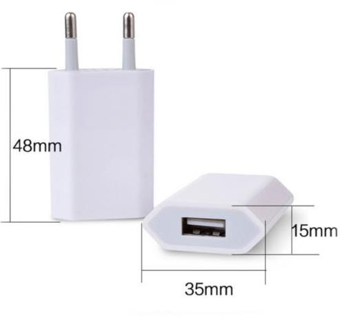 China Express Originele Enkele Poort Mobiele Telefoon Oplader, Muurbevestiging Charger Travel Charger USB Adapter, Bulk ce usb lader
