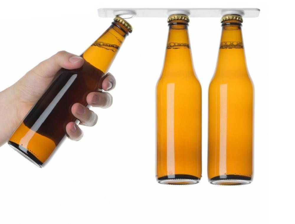 Kühlschrank Organizer : Magnetische flaschenhalter halter bier loft kühlschrank