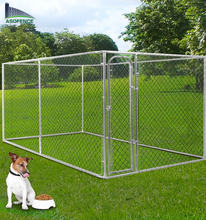 Hot-dipped Galvanized 10X10x6ft chain link Dog kennel for Australia