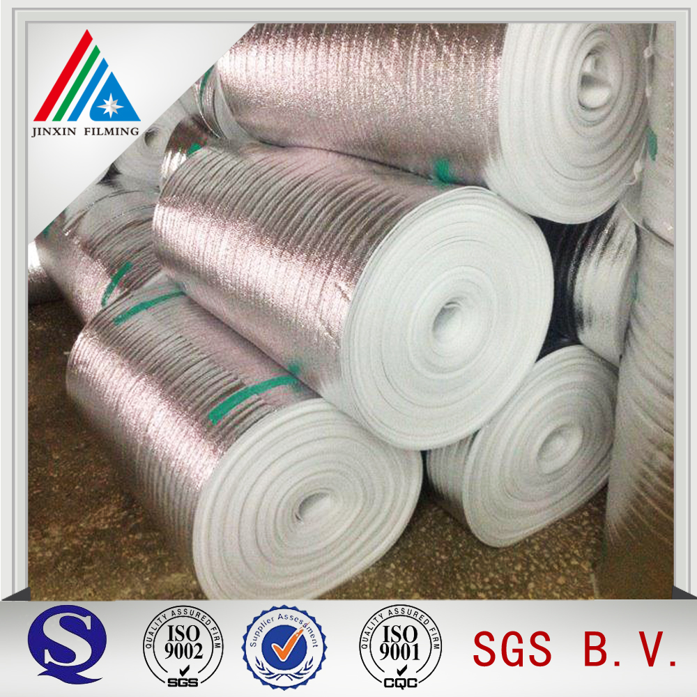 Heat Insulation Aluminum Metallized Film Roll with good quality