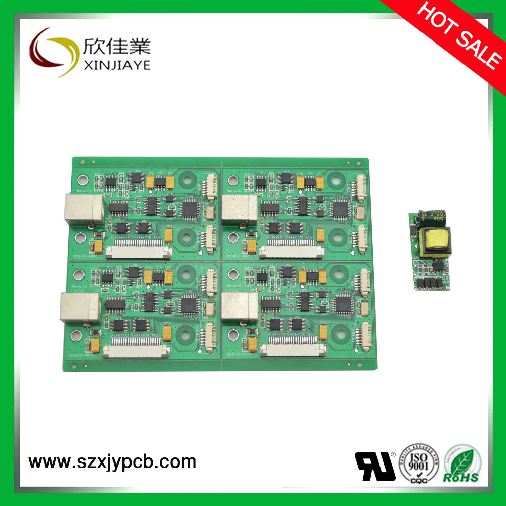 IP-based access control PCB board OEM touch switch electronic pcb board