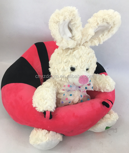 Free sample plush baby sofa seat/ Soft Car Pillow Cushion Sofa/Baby Support Seat Soft Car Pillow Cushion