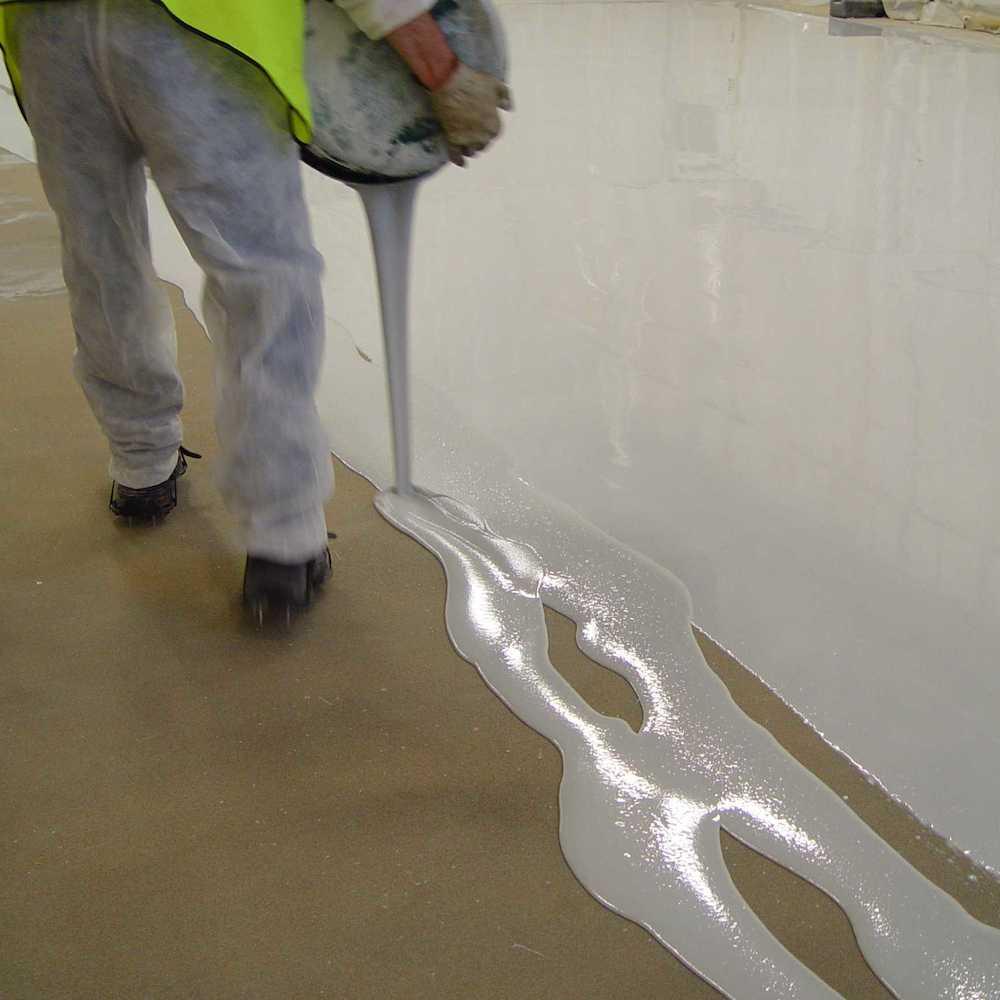 Interior Clear Epoxy Floor Paint