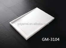 stone resin shower base/polymarble shower base GM-3104