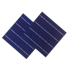 156x156 poly soalr cells high transfer efficiency photovoltaic cell