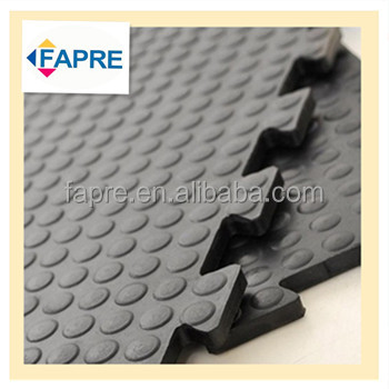 Non Toxic Anti Slip Mats Interlocked Pvc Floor Mat Interlocking