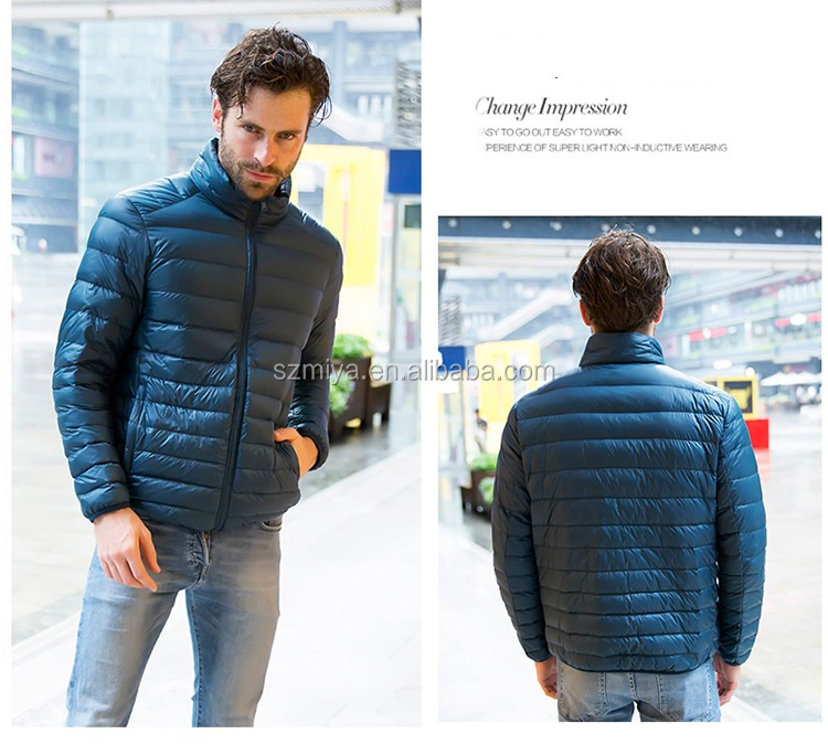 d723a9d74 Windproof Fashion Style Duck Down Feather Filled Ultra Light Mens Winter  Down Jacket - Buy Goose Feather Winter Jacket,Winter Thick Down Jacket,Mens  ...