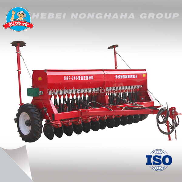 2016 type 24 rows wheat seeder for sale disc wheat planter rice planter