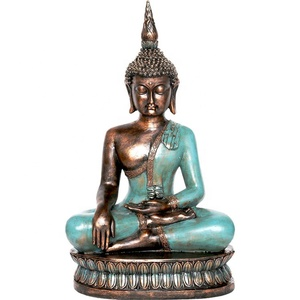 Table decor buddha Meditation sitting polyresin global thai buddha statue