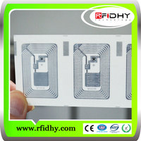 13.56 mhz passive small rfid sticker tags