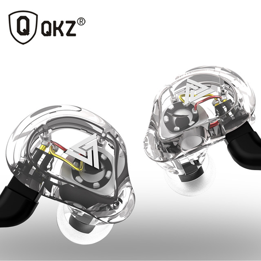 Newest Coming QKZ VK1 High Quality Clear Sound Wired Earphone with mic
