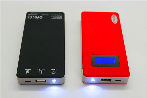 Shenzhen Manufacturer 10000mah portable screen display mobile power bank with competitive price for promtion