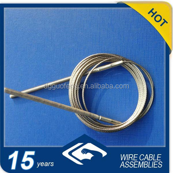 Anti-twisting Braided Steel Wire Rope With Threaded Studs - Buy ...