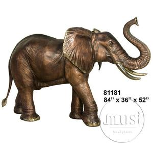 Landscape Decoration Brass Elephant For Export
