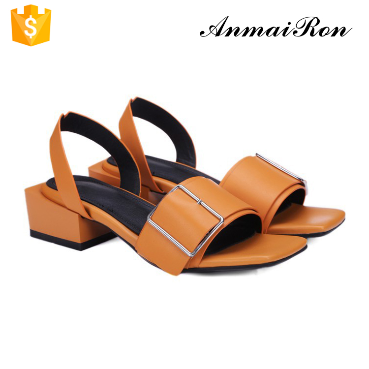 retro vintage women ladies square toe low medium chunky heel <strong>sandals</strong>